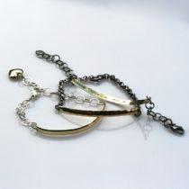 unikke armbånd med vielsesring og sølvkæde