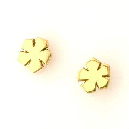 blomst øreringe guld christle kaaber