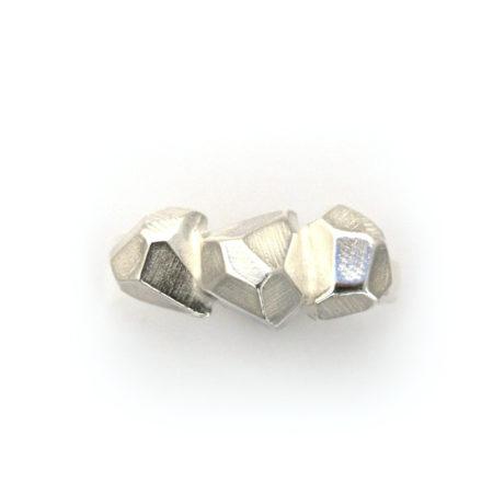 Rock ringe til kvinder i sølv af Christel Kaaber Guldsmedie